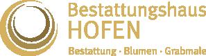 Bestattungshaus-Hofen Logo